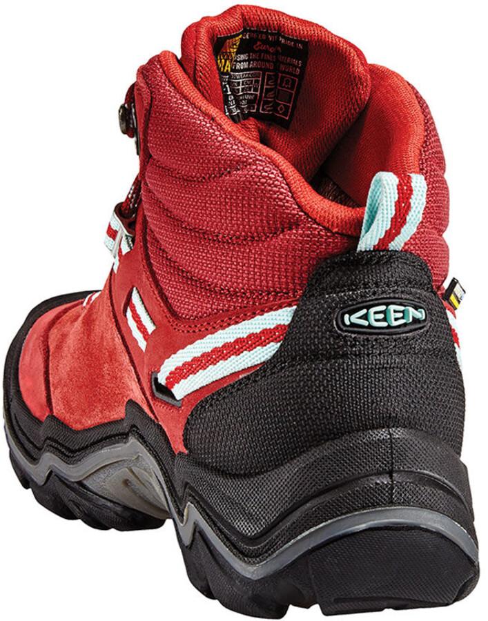 info for 89026 8602c Keen Wanderer Mid WP Shoes Damen chili pepper/gargoyle